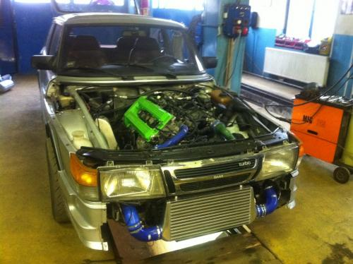 SAAB TURBO INTERCOOLER1