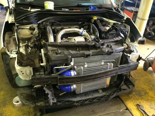 207 RC Intercooler